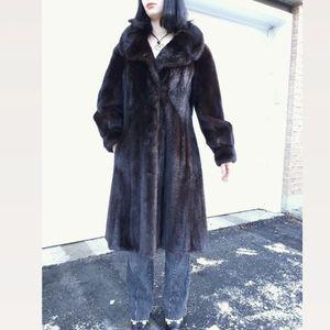 Like New Vintage Mink Fur Coat